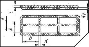 Расчет потребности порошка кислотоупорного для футеровки плитки камнелитой